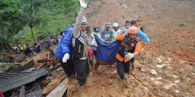 مصرع 20 شخصا جراء انهيارات طينية وفيضانات في إندونيسيا