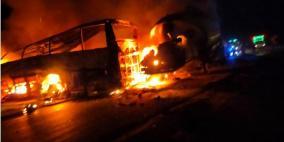 مصر: مصرع 20 مواطنًا وإصابة 3 آخرين في حادث تصادم بأسيوط