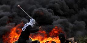 """إصابة شاب بعيار """"إسفنجي""""  إثر قمع الاحتلال مسيرة كفر قدوم"""