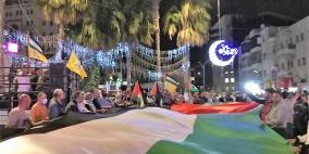 مسيرة في طمون اسنادا لأهلنا في القدس وغزة