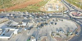 نابلس: الاحتلال يعتقل 11 مواطناويشدّد إجراءاته على حاجز زعترة