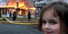 """""""الفتاة الكارثة"""" تبيع صورتها الأصلية بنحو نصف مليون دولار!"""