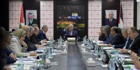 تفاصيل كلمة الرئيس عباس في اجتماع الحكومة اليوم