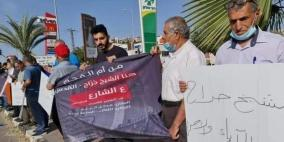 وقفة تضامنية في أم الفحم مع حيّ الشيخ جراح بالقدس