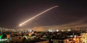 طائرات الاحتلال تقصف مواقعا في  محيط العاصمة السورية