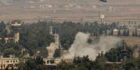 قصف إسرائيلي يستهدف منزلًا في ريف القنيطرة الشمالي