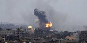 غزة: استمرار الغارات وارتفاع عدد الشهداء الى 24 و106 جرحى
