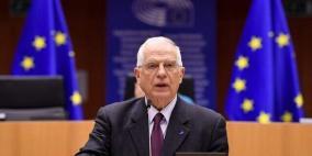 الاتحاد الأوروبي يعلن إجراء اتصالات لوقف التصعيد