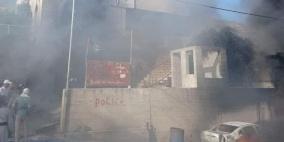 الشرطة تصدر بيانا بشأن محاولة الاعتداء على مركز عوريف