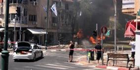 بالفيديو.. القسام تقصف تل أبيب ومستوطنة قرب رام الله