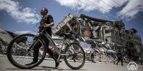 """""""سنعمرها"""".. حملة لإزالة الركام الذي خلفه العدوان على غزة"""