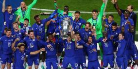 تشلسي يحقق لقب دوري أبطال أوروبا للمرة الثانية