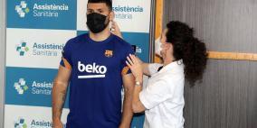 بعد انضمامه إليه.. أغويرو: برشلونة الأفضل بالعالم