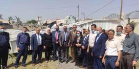 وفد من مجلس الوزراء يزور القدس المفتوحة في شمال غزة