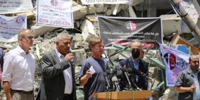 بورغسدورف: إعمار غزة يتطلب رفع الحصار وضمان حرية التنقل