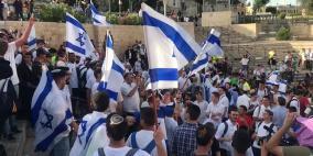 """قلق أمريكي.. الشرطة الإسرائيلية توافق على تنظيم """"مسيرة الأعلام"""""""