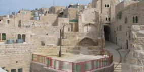 مستوطنون يجرفون حيا تاريخيا قرب الحرم الابراهيمي
