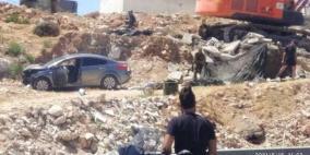 شهيدة برصاص الاحتلال على حاجز حزما شمال القدس