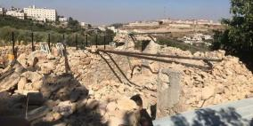 الاحتلال يهدم غرفة زراعية في بلدة الخضر