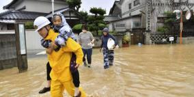 إخلاء أكثر من 120 ألف ساكن في اليابان بسبب الأمطار