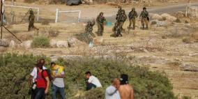 إصابة 3 مواطنين برصاص الاحتلال خلال مواجهات شرق طوباس