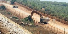 إسرائيل تشرع بتحصين المناطق الحدودية جنوب لبنان