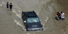 باكستان.. أمطار غزيرة وانهيارات تقتل 17 شخصا وتدمر منازل