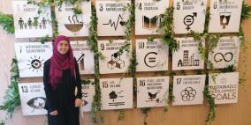 لاجئة فلسطينية مرشحة لجائزة أكثر طالب نفوذاً في العالم