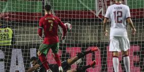 رونالدو يكسر رقما قياسيا جديدا أمام قطر