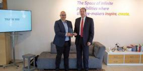 """رئيس البنك الدولي ديفيد مالباس يكرم صندوق """"ابتكار"""""""