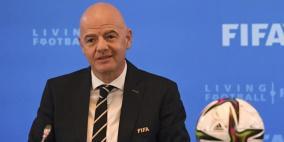 """اتحاد """"القدم"""" الفلسطيني يعتذر عن استقبال رئيس الفيفا لهذا السبب"""