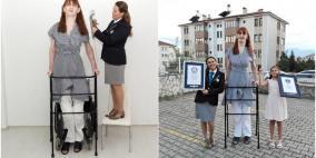 تركية تدخل غينيس كأطول امرأة على قيد الحياة في العالم