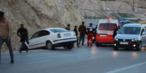 9 إصابات بينها خطيرة في حادث سير غرب الخليل