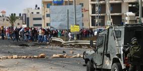 عشرات الإصابات بتجدد المواجهات مع الاحتلال لليوم السابع على التوالي