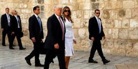ترامب يحج الى بيت لحم اليوم
