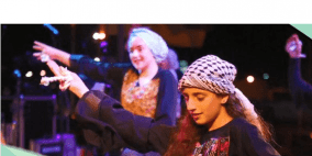 فرقة جيل المستقبل الفلسطينية تشارك في مهرجان طنجة المغربي
