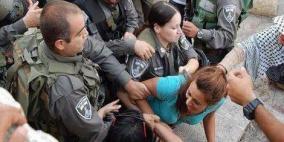 قوات الاحتلال تعتدي على المعتصمين في القدس وتعتقل مواطنين