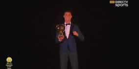 كريستيانو رونالدو يفوز بجائزة الكرة الذهبية لعام 2017
