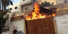 أردني أحرق منزله بالكامل نكاية بزوجته