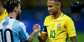 نيمار سعيد بتأهل ميسي لكأس العالم
