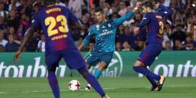 ريال مدريد يلقن برشلونة درسا قاسيا بعشرة لاعبين