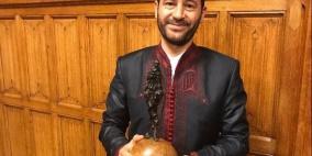 رمزي ابو رضوان، مؤسس جمعية الكمنجاتي يحصل على جائزة غاندي للسلام 2017