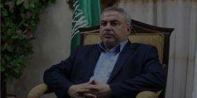 """رضوان: لن نحل اللجنة الادارية ومصر وعدت بفتح """"رفح"""" على مدار الساعة"""