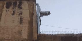 الاحتلال ينصب كاميرات داخل حرم المسجد الأقصى