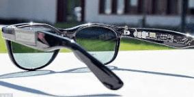 نظارتك الشمسية ستشحن هاتفك الذكي