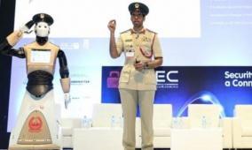 شرطي آلي ينضم إلى شرطة دبي