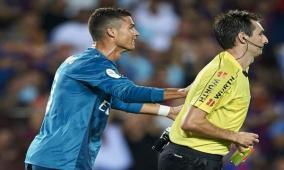 إيقاف كرستيانو رونالدو 5 مباريات
