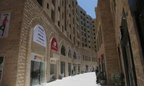 لقاء صحفي حول التحضيرات النهائية لافتتاح - كيو سنتر - المركز التجاري الجديد في مدينة روابي