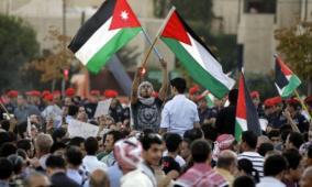 استهداف الأردن حصار لفلسطين