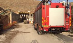 إصابة أربعة أشخاص جراء حريق بمنزل في شفاعمرو